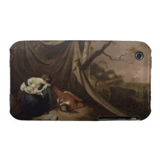 El soldado muerto, c.1789 (aceite en lona) Case-Mate iPhone 3 protector