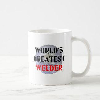El soldador más grande tazas de café