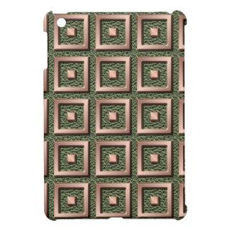 El sólido de cobre ajusta el caso del iPad