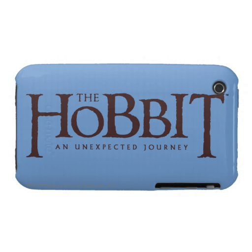 El sólido del logotipo de Hobbit iPhone 3 Case-Mate Protector