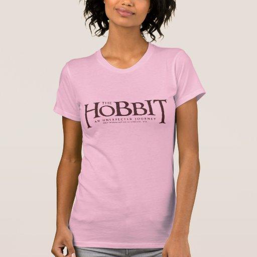 El sólido del logotipo de Hobbit Tshirts