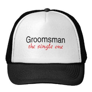 El solo padrino de boda gorras
