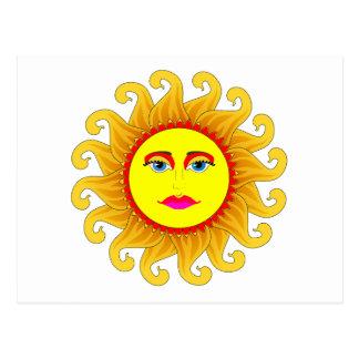 el solsticio de verano tarjetas postales