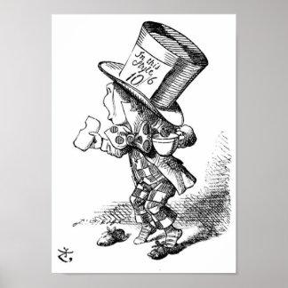 El sombrerero enojado posters