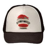 ¡El sombrero divertido del mono del calcetín es us Gorra