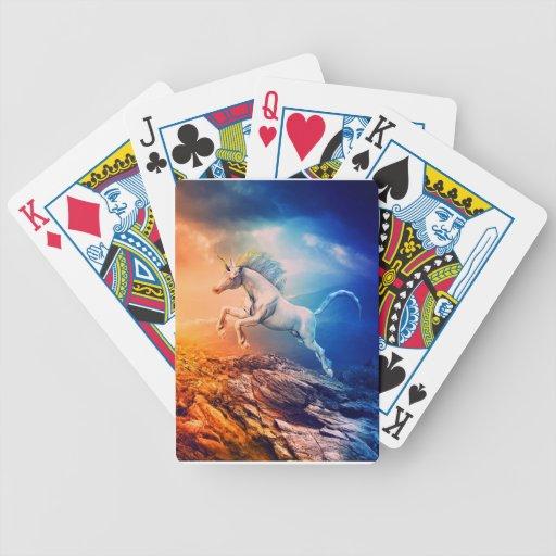 El soñador baraja de cartas