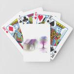 El soñar despierto en color barajas de cartas