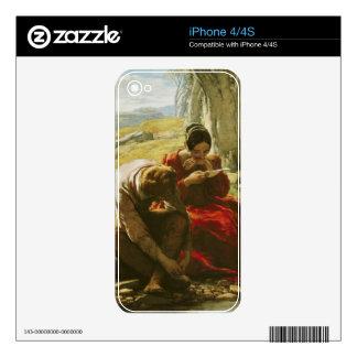 El soneto, 1839 (aceite en el panel) skins para eliPhone 4