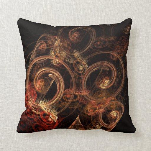 El sonido de la almohada de tiro del arte abstract