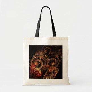 El sonido de la bolsa de asas del arte abstracto d
