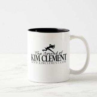 El sonido de la taza clemente del logotipo de Kim