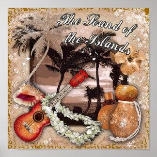 El sonido de las islas poster