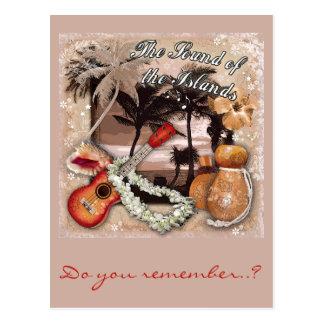 El sonido de las islas tarjetas postales