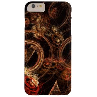 El sonido del arte abstracto de la música funda de iPhone 6 plus barely there