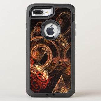 El sonido del arte abstracto de la música funda OtterBox defender para iPhone 7 plus