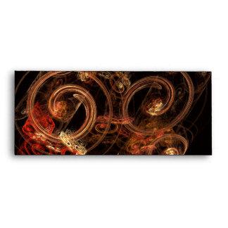 El sonido del sobre del arte abstracto #10 de la m
