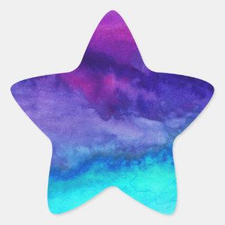 El sonido pegatina en forma de estrella