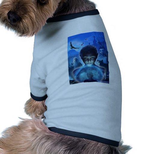 El sonido y los ecos camisa de perro