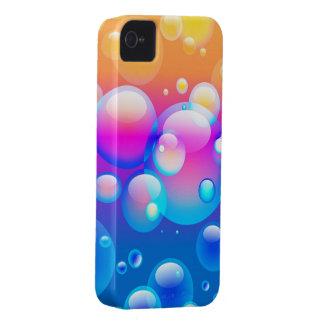 El soplar burbujea caso del iPhone 4 de I Carcasa Para iPhone 4 De Case-Mate