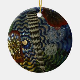 El soplar de cristal creativo ornamento de reyes magos