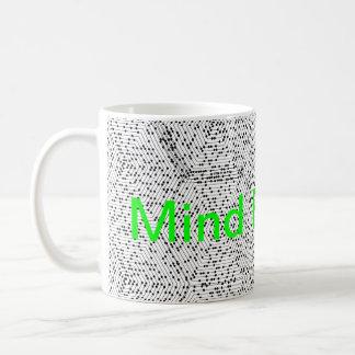 El soplar de la mente taza