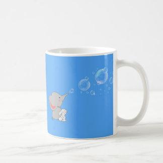 El soplar del elefante bobbles taza