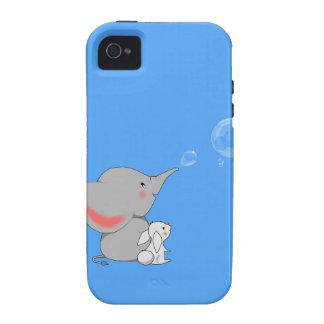 El soplar del elefante bobbles vibe iPhone 4 funda