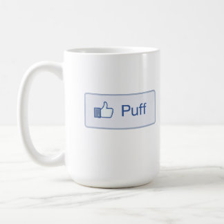 El soplo Facebook tiene gusto de la taza
