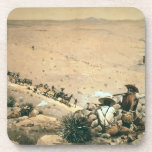 """""""El soporte"""", c.1900 (aceite en lona) Posavasos"""