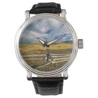 El soporte Haggin NWR acerca al Anaconda Montana Reloj