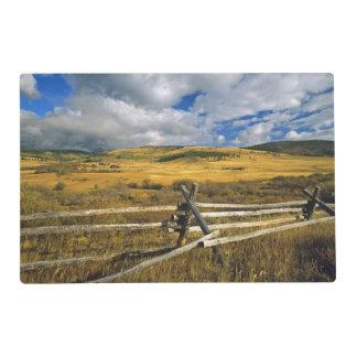 El soporte Haggin NWR acerca al Anaconda Montana Tapete Individual