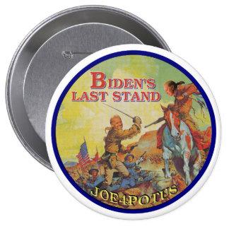 El soporte pasado de Biden Pin Redondo De 4 Pulgadas