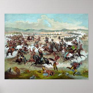 El soporte pasado de Custer Posters