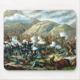 El soporte pasado de Custer Tapete De Raton