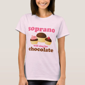 El soprano cantará para el chocolate playera