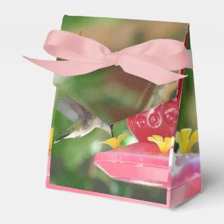 El sorber del colibrí caja para regalos de fiestas