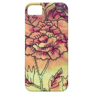El sorbete entonó los flores de la sangría iPhone 5 Case-Mate carcasas