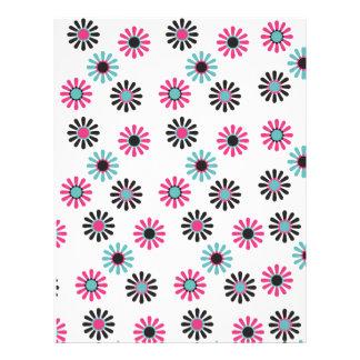 el sorbete florece el papel scrapbooking 01 membrete