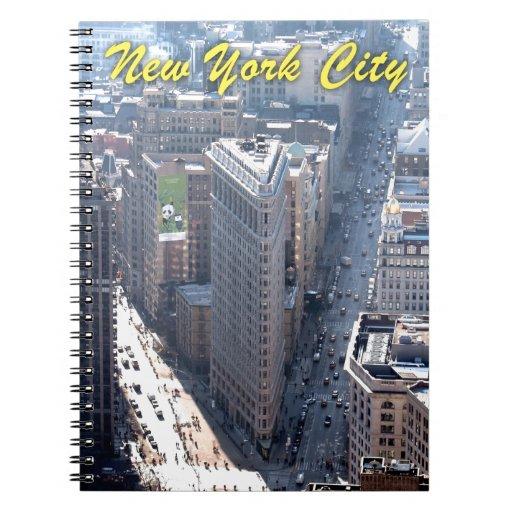 ¡El sorprender! Flatiron que construye New York Ci Libro De Apuntes