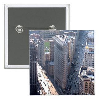¡El sorprender! Flatiron que construye New York Ci Pin Cuadrada 5 Cm