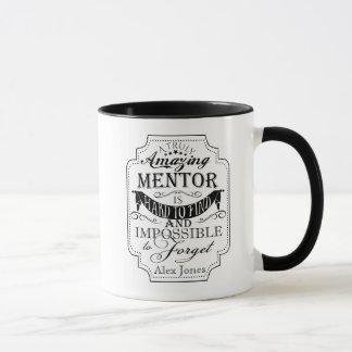 el sorprender personaliza negro de la taza del