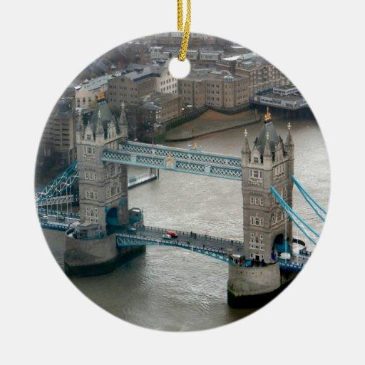 ¡El sorprender! Puente Londres de la torre Ornamento De Navidad