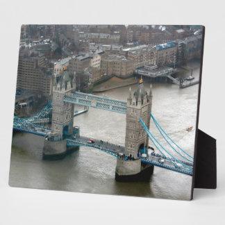 ¡El sorprender Puente Londres de la torre Placas De Madera