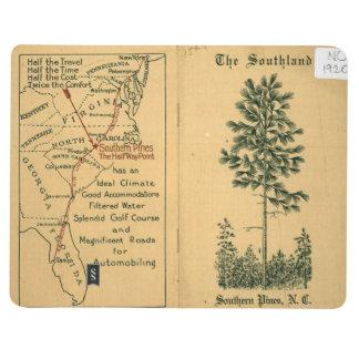 """""""El Southland, pino meridional, libro del turismo Cuadernos"""