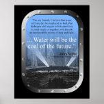 El SP riega… el carbón del futuro - el poster (azu