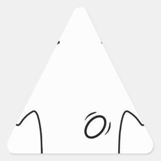 El Spanker Calcomanías Trianguladas Personalizadas