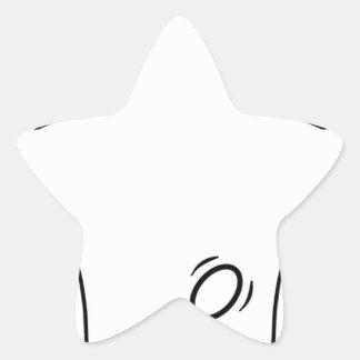 El Spanker Pegatinas Forma De Estrella Personalizadas