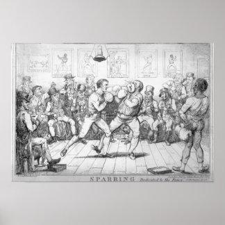 El Sparring, 1817 Poster