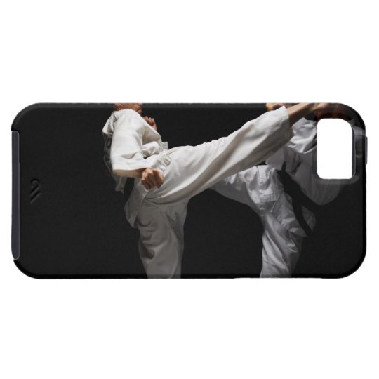 El Sparring de dos Blackbelts Funda Para iPhone SE/5/5s