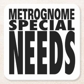 El Special de Metrognome necesita el práctico de Posavasos Personalizable Cuadrado